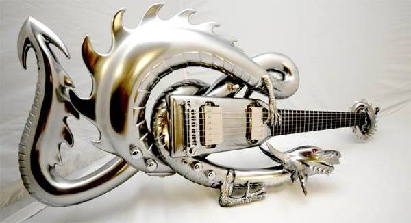 Самые страшные, жуткие или просто странные гитары, сделанные на заказ