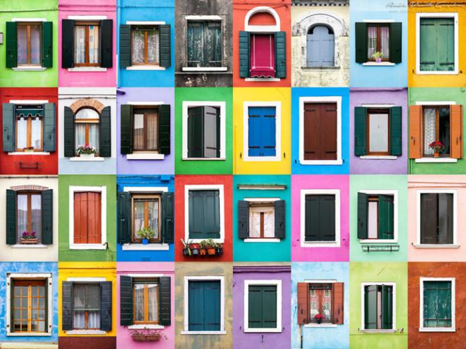 Великолепные окна из разных городов мира
