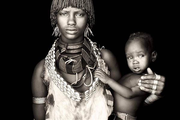 Гипнотические портреты африканских кочевников
