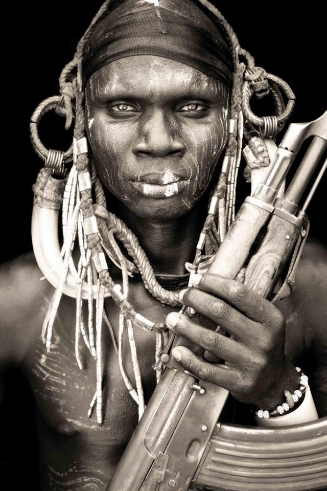 Портреты африканских кочевников.