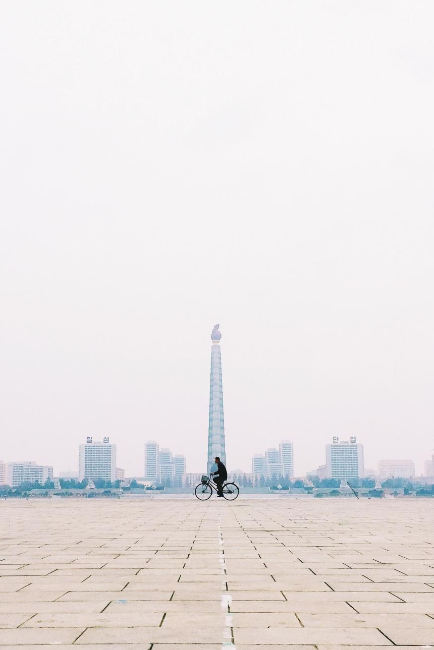 ОдинокийвелосипедистПхеньяна