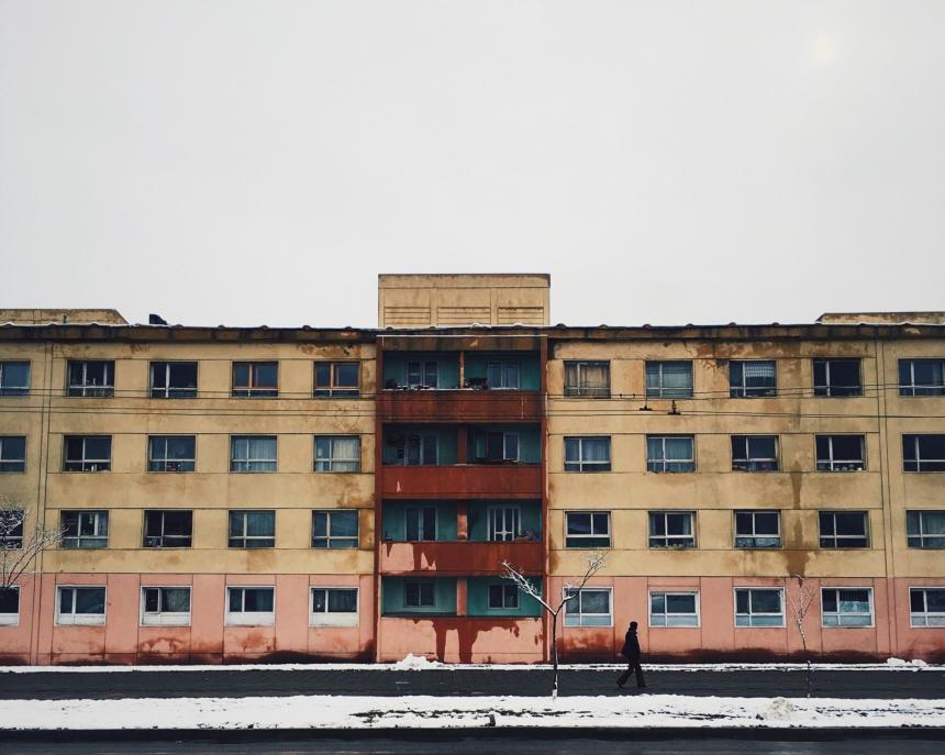 Блочные квартиры, которые были построенывосточными немцами