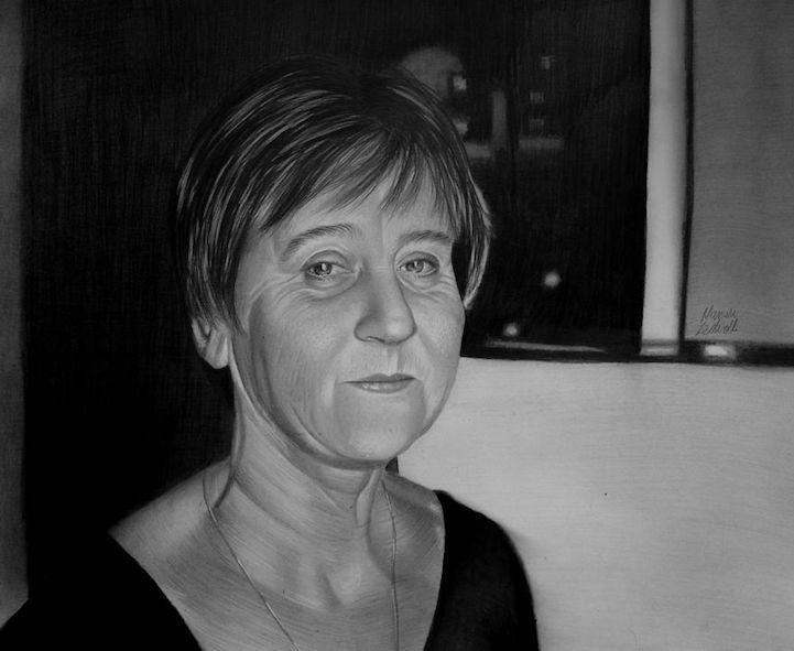 Гиперреалистичные картины от Мариуша Кедзерски