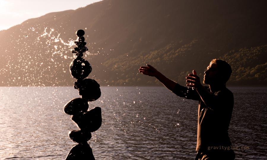 Сбалансированные камни от Майкла Граба