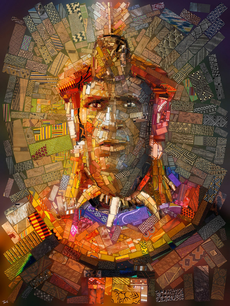 Мозаичные фрески от Хариса Тсевиса