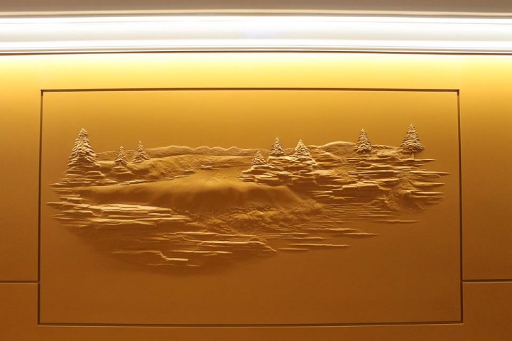 Фрески из гипса от Берни Митчелла