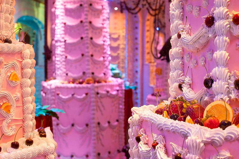 Лабиринта из торта