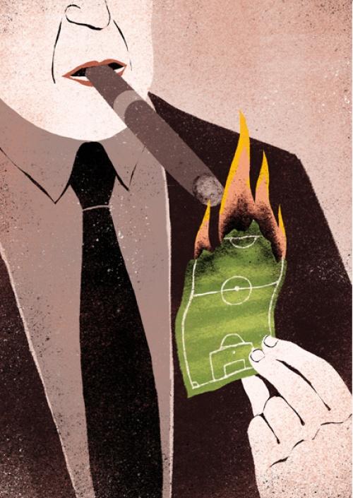 Саркастические иллюстрации от Дэвида Бонацци