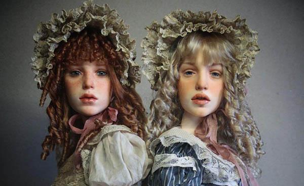 Невероятно реалистичные куклы от Михаила Зайкова и Ирины Куземиной
