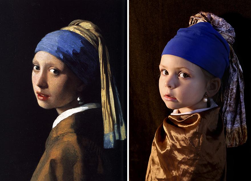 Ян Вермеер - «Девушка с жемчужной сережкой»,1665