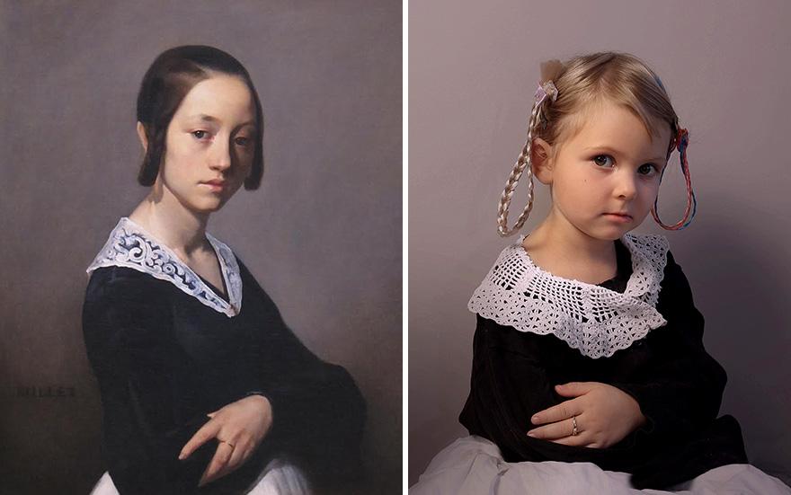 Жан-Франсуа Милле - «Луиза-Антуанетта Феарден», 1841