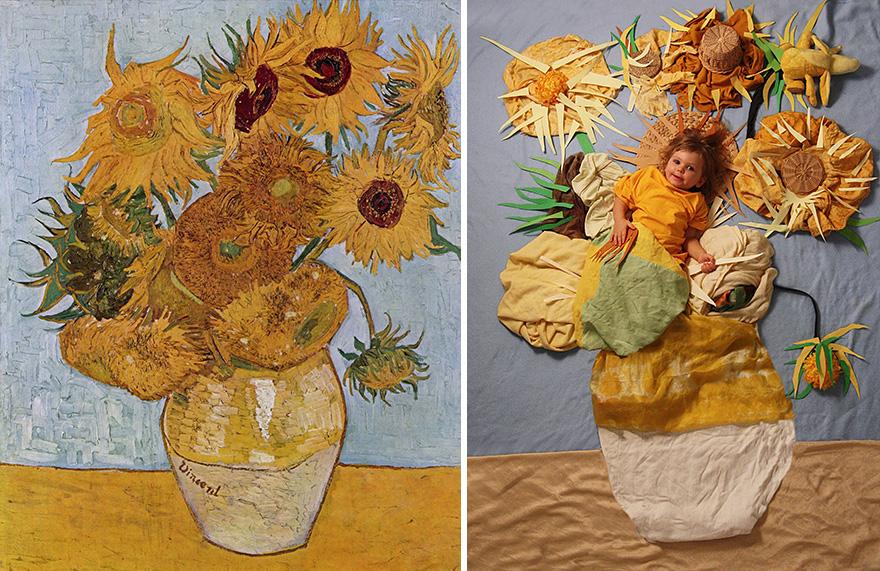 Винсент Ван Гог - «Ваза с двенадцатью подсолнухами», 1888