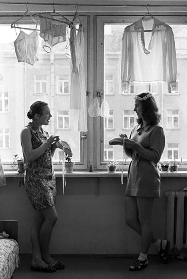Общежитие. 1970-е