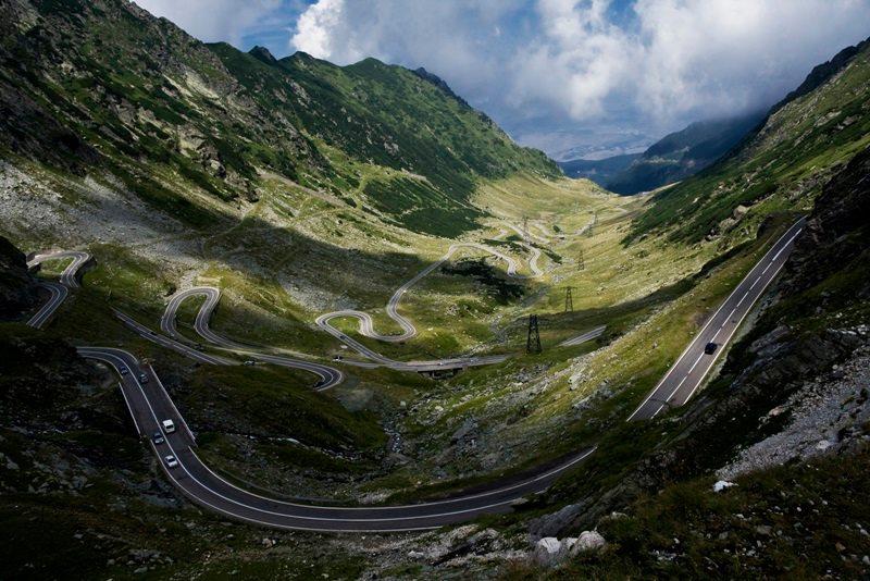 Трансфэгэрашское шоссе, Румыния