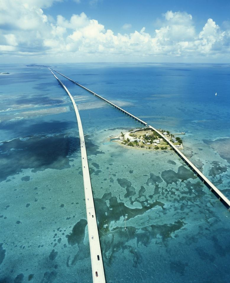 Семимильный мост, штат Флорида, США