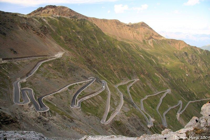 Перевал Стельвио, Альпы, Италия
