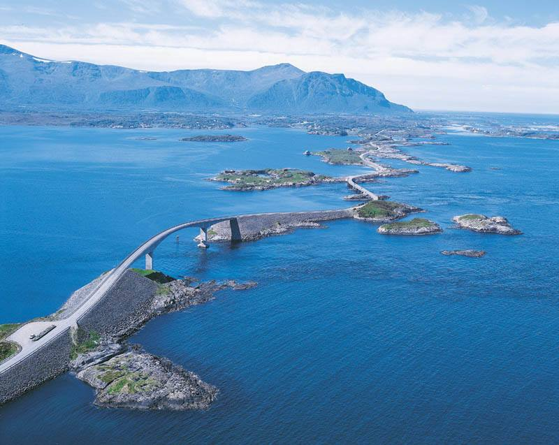 Атлантик Роуд, Норвегия