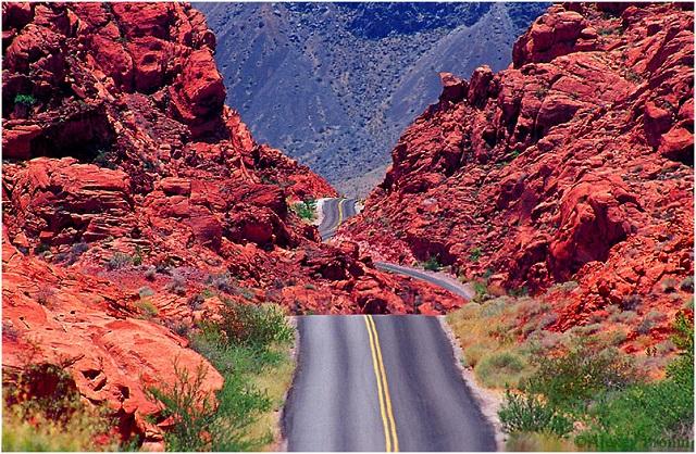Долина Огня, штат Невада, США