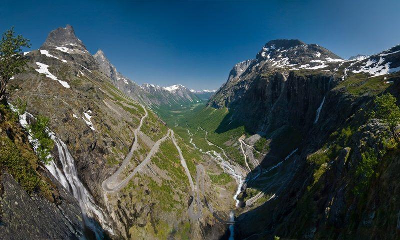 «Лестница троллей» Тролльстиген, Норвегия