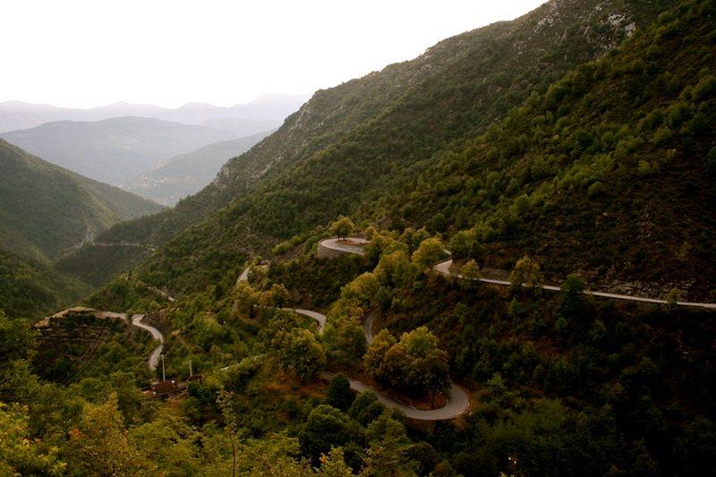 Горный перевал Коль де Тюрени, Франция