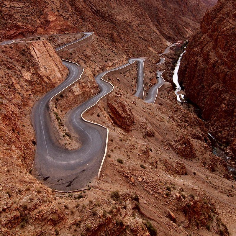 Ущелье Дадес,Высокий Атлас, Марокко