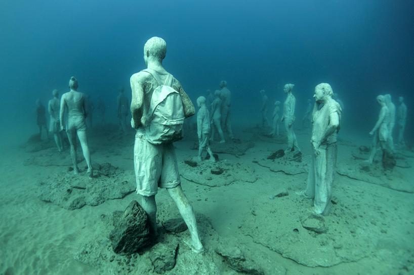 Подводный музей у берегов Лансароте