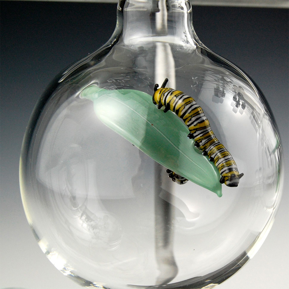 Миниатюры из стекла от Кива Форда