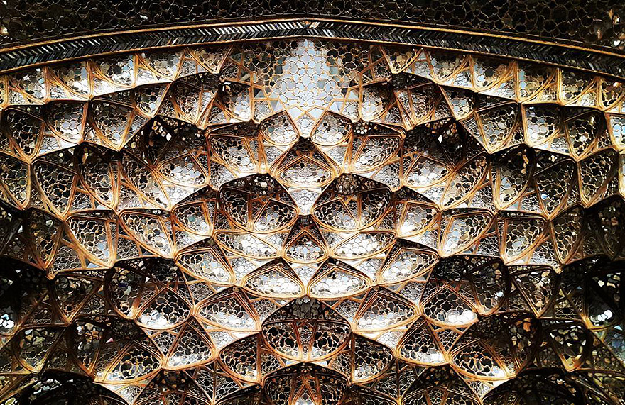 Дворец Chehel-soton,Исфахан, Иран