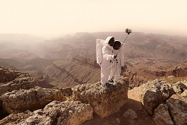 Туризм на Марсе глазами фотографа Жульена Маува