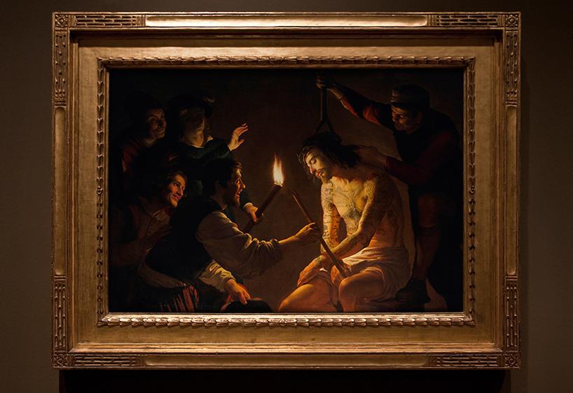Геррит ван Хонтхорст - «Насмехание над Христом»
