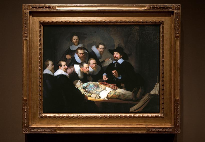 Рембрандт Харменс ван Рейн - «Урок анатомии доктора Тюльпа»