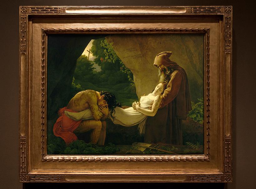 Анн-Луи Жироде-Триозон - «Погребение Аталы»