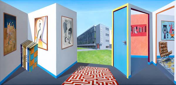 Потрясающие реверспективные картины Патрика Хьюза