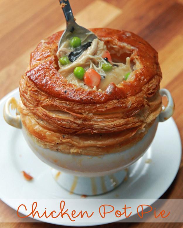 Рецепт куриного пирога