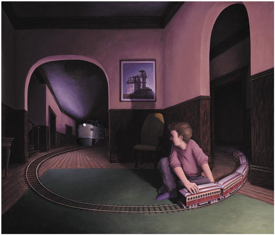 Оптические иллюзии Роба Гонсалвеса (Rob Gonsalves).