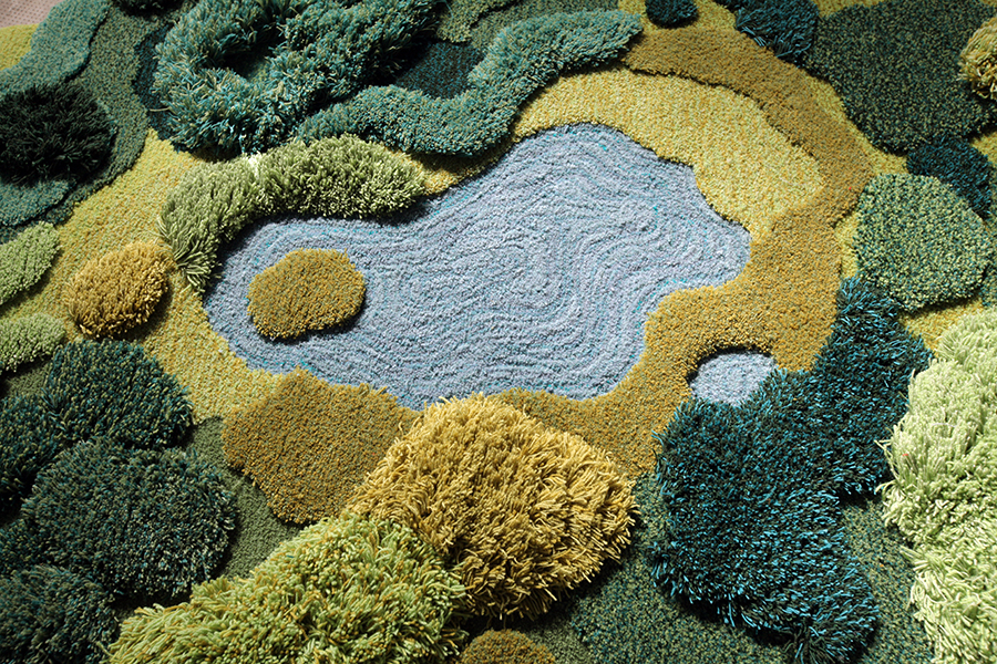 Шерстяные ковры от Александры Кехейглоу