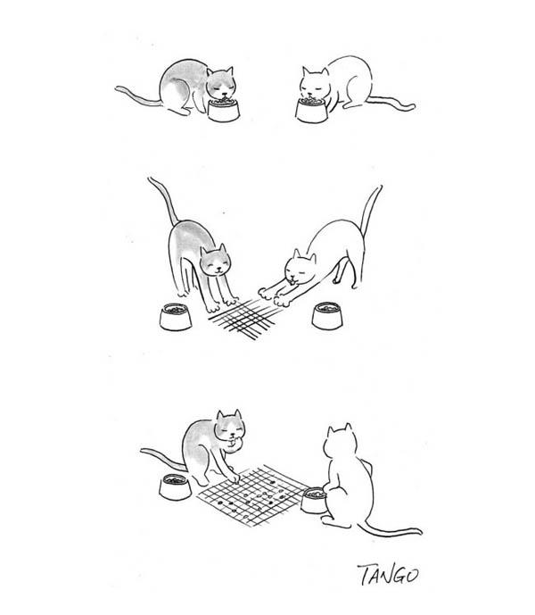 Забавные иллюстрации от Танго