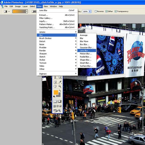 Как сделать фотографию с Tilt-Shift эффектом