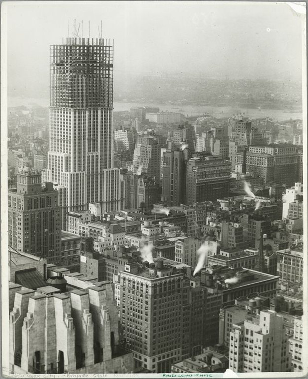 Эмпайр-стейт-билдинг, Нью-Йорк, США, 1931