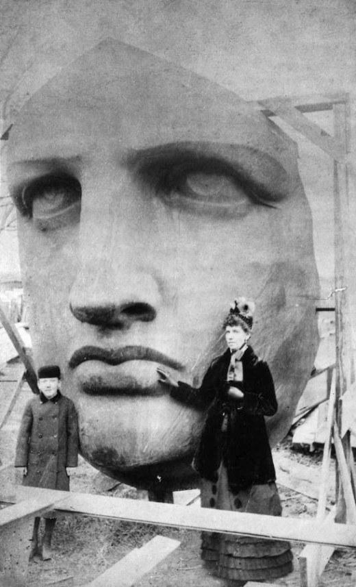 Статуя Свободы, Нью-Йорк, США, 1885