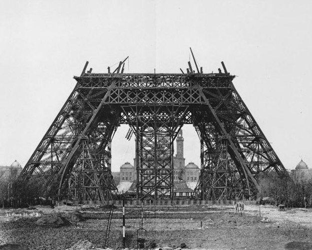 Эйфелева башня, Париж, Франция, 1888