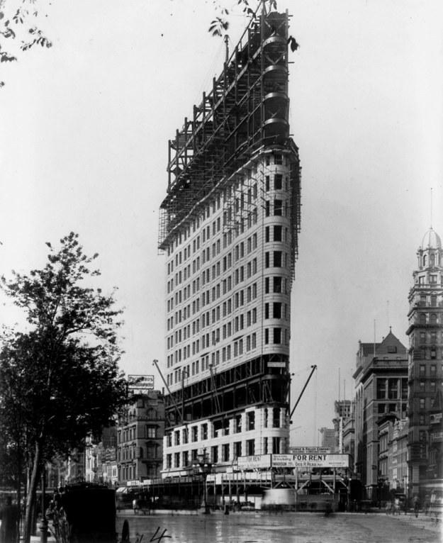 Флэтайрон-билдинг, Нью-Йорк, США, 1902