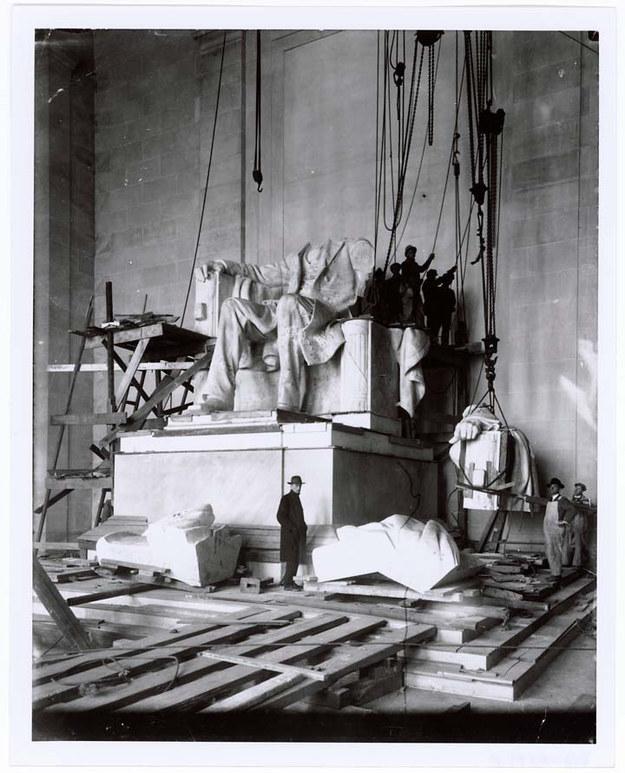 Мемориал Линкольна, Вашингтон, США, 1920