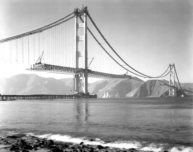 Мост Золотые Ворота, Сан-Франциско, США, 1936