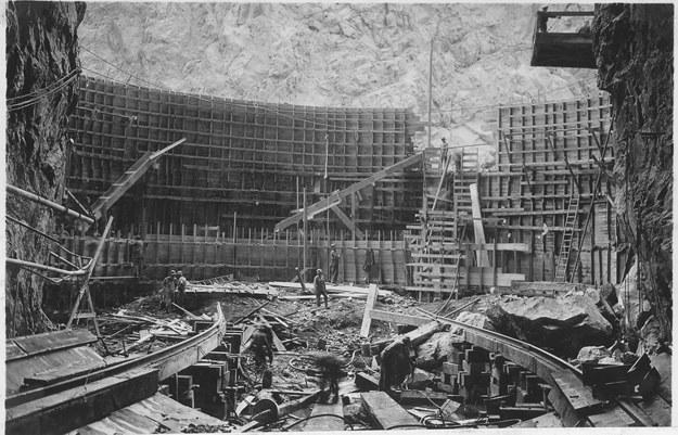 Плотина Гувера, США, 1932