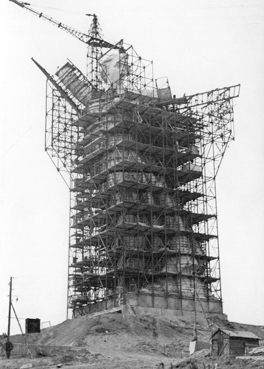 Мемориальный комплекс «Мамаев курган», Волгоград, 1959 - 1967