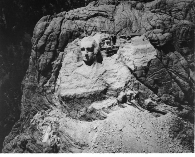 Гора Рашмор, США, 1933