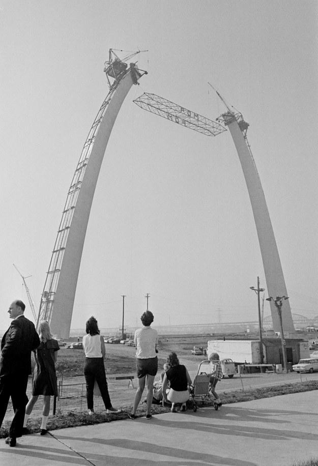 Ворота Запада, Сент-Луис, США, 1965