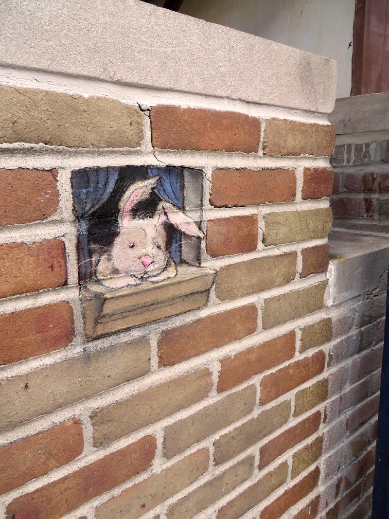 Уличные иллюстрации от Дэвида Зинна (David Zinn).
