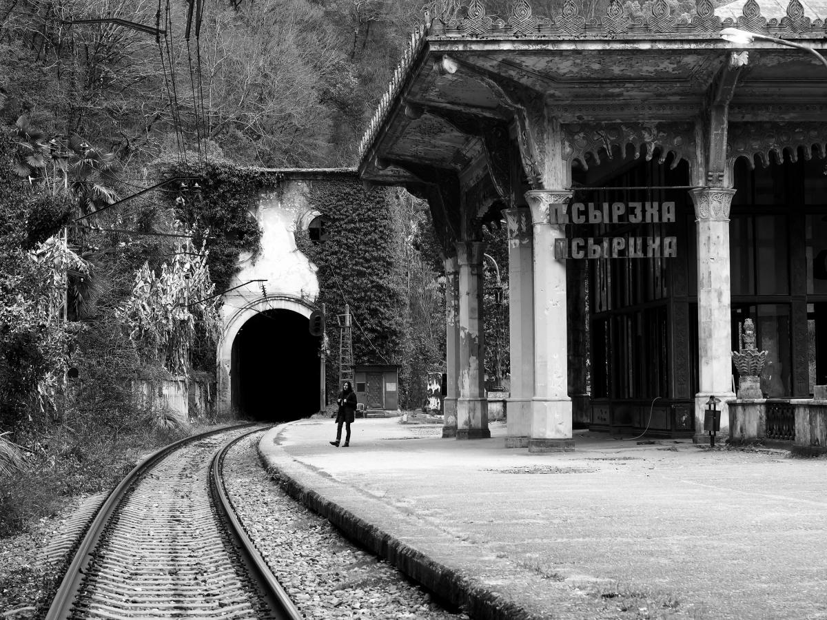 Абхазия от фотографа Роберта Уолтона Купера